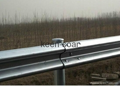 W Beam Hot Dipped Galvanized Highway Guardrail