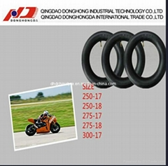 Butyl Rubber Hot Selling and Good Quality Motorcycle Inner Tube (250-18)