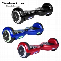 Wholesale 2 wheels 4400MA lithlium battery standing skateboard electric scooter