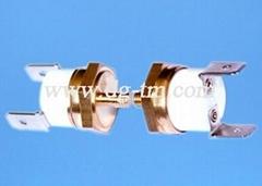 六角铜头温控开关按摩电器温度开关各类温控器