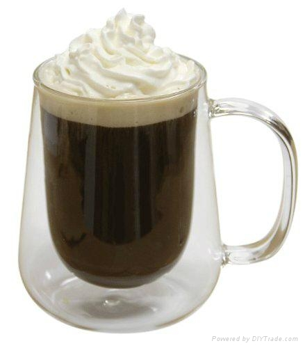 Glass coffee cup 2