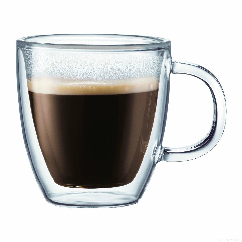 Glass coffee cup 3