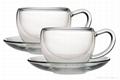 Glass coffee cup 4