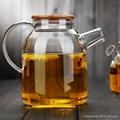 large capacity glass teapot