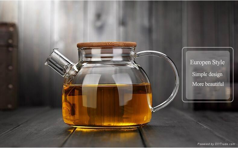 large capacity glass teapot 3