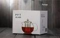 Big capacity glass teapot 5