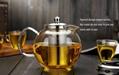 Big capacity glass teapot 3