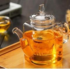 350ml glass teapot