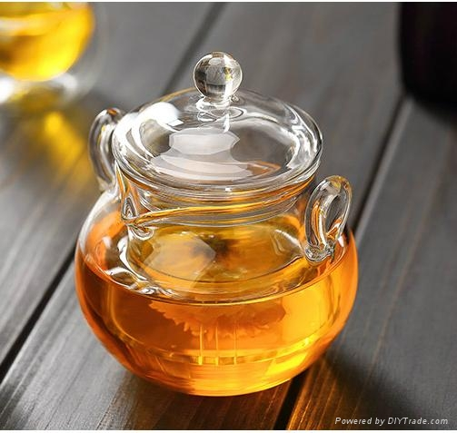 225ml glass teapot 3