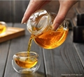 225ml glass teapot 5