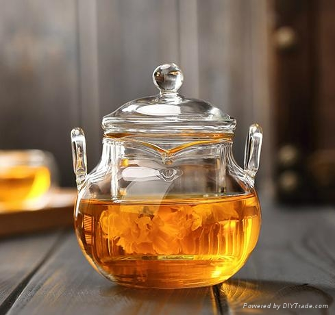 225ml glass teapot 1