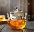 225ml glass teapot
