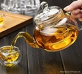 heat resistant glass teapot 4