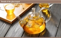 fire resistant borosilicate glass teapot 4