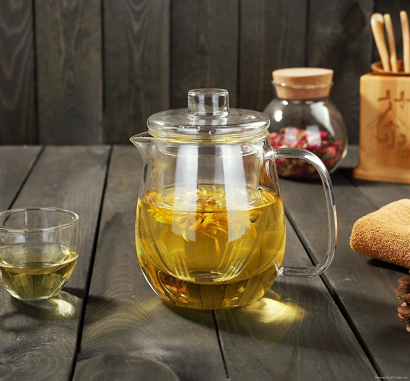 Glass teapot to boil water 1