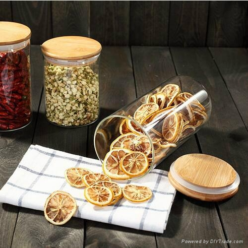 Hot Selling Christmas Gift Wholesale glass canisters 4