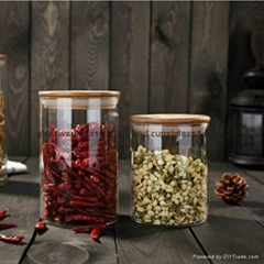 Hot Selling glass storage jar