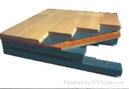 SS结构双层龙骨防潮体育木地板 1
