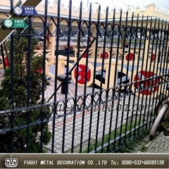 High Quality HDG wrought iron fence