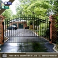 Decorative wrought iron gate main swinging gate 2