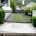 High quality wrought iron gate main swinging gate 2