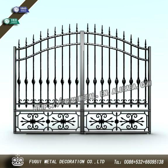 Top-selling high quality wrought iron gate 2