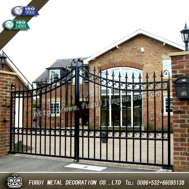 Luxury Top-selling high quality wrought iron gate 2