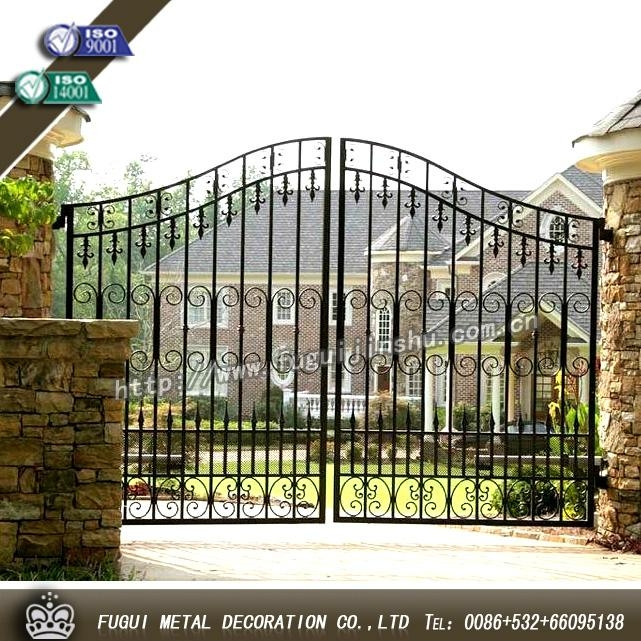 Luxury Top-selling high quality wrought iron gate 3
