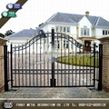 Luxury Top-selling high quality wrought iron gate 4