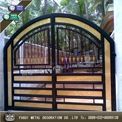 Luxury high quality wrought iron gate