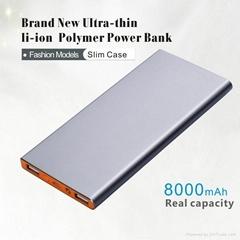 Aluminum high quality slim Portable