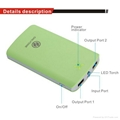 Original Power Bank for smart phone tablet PSP with 2USB output 4