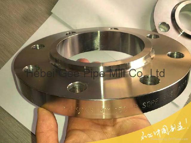 Carbon steel forged flange 4