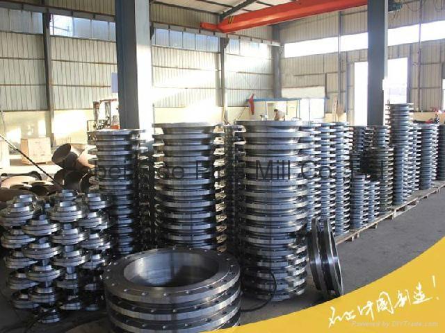Carbon steel forged flange 5