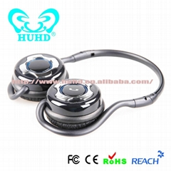 2014 New Fashion Design Bluetooth Wireless Stereo Headphone OEM