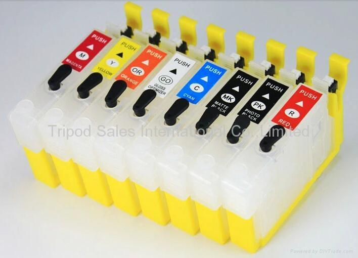 兼容爱普生 R2000 墨盒 打印机墨盒 T1590 填充墨盒 1