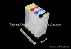 CISS INK TANK W shape tank A6 series 60ML pp materia