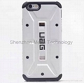 urban Armor TPU phone case with screen protector for Iphone 6 6 Plus 7 7plus 4