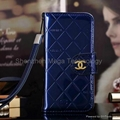 Note 3 Note 4 mirror Shiny PU Leather