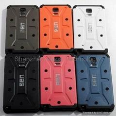 Wholesale Note 4 Note 3 Note 2 Urban Armor UAGGing TPU phone case