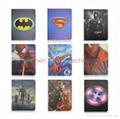 ipad air ipad 5 spider man iron man Batman PU Leather Flip stand Cover
