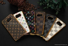 Samsung S8 S8 plus LV louis Vuitton Metal Flower hard phone protective case