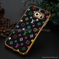 Samsung S8 S8 plus LV louis Vuitton Metal Flower hard phone protective case