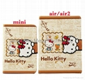 ipad 5 ipad air 2 Hello kitty Cartoon PU
