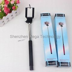 Samsung Apple monopod handheld Extendable Tripods Selfie Stick