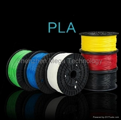 3D Printer Pen Filament PLA 1.75mm Plastic Rubber Consumables Material