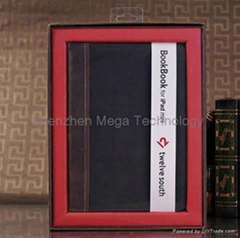 ipad mini Bookbook PU Stand wallet leather tablet protective cover