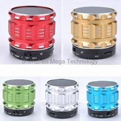 S28 Bluetooth Speaker Portable Mini Wireless Metal Steel Stereo cute speaker