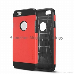 Spigen Dual-Color Tough Armor Style 2 in 1 PC Hybrid Case for iPhone 6 4.7 inch