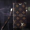 iphone 6 plus Brand LV Louis PU wallet